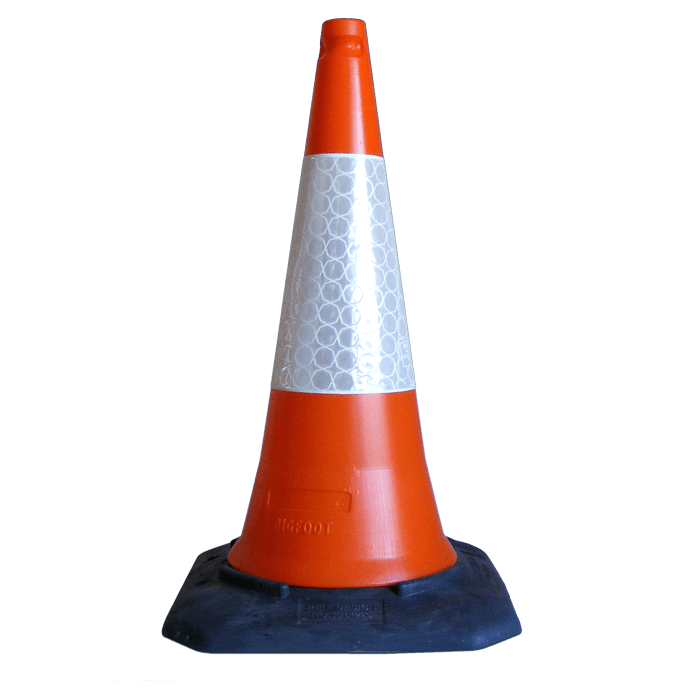 Melba Swintex | Bigfoot Traffic Cone | Traffic Management Traffic Cone On Road